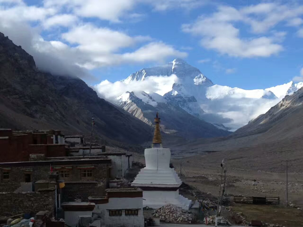 Lhasa-mt Everest-kyirong Border-nepal